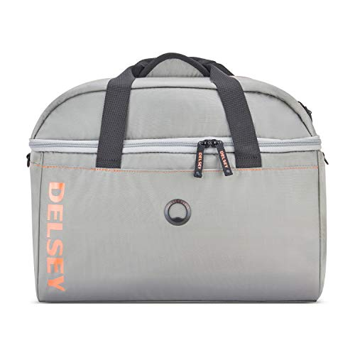 DELSEY Paris Egoa Travel Duffel Bag Made from 100% Recycled Materials, Light Gray, 18 Inch