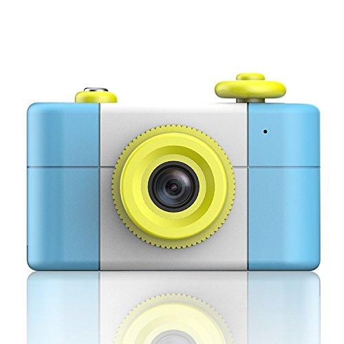 ESTGOUK Cámara Digital para Niños, 2 Megapíxeles, 1.5 Pantalla a Color, con la Función de Video (Azul Claro) 1.5 Pantalla a Color