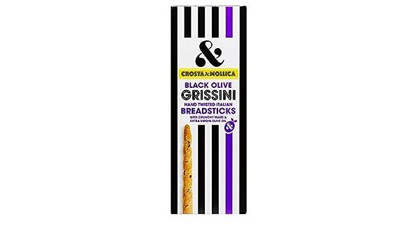 Crosta y Mollica Grissini y Negro oliva 140g: Amazon.es: Alimentación y bebidas