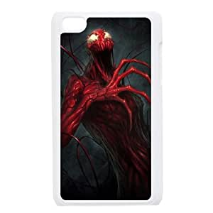 Carnage iPod Touch 4 Case White Exquisite designs Phone Case KM416496