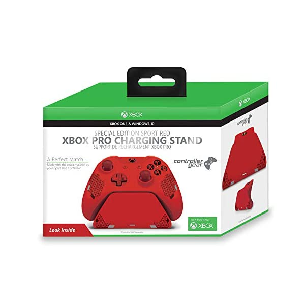 Controller Gear Sport Red Special Edition Xbox Pro Charging Stand (Controller Sold Separately) - Xbox One 7