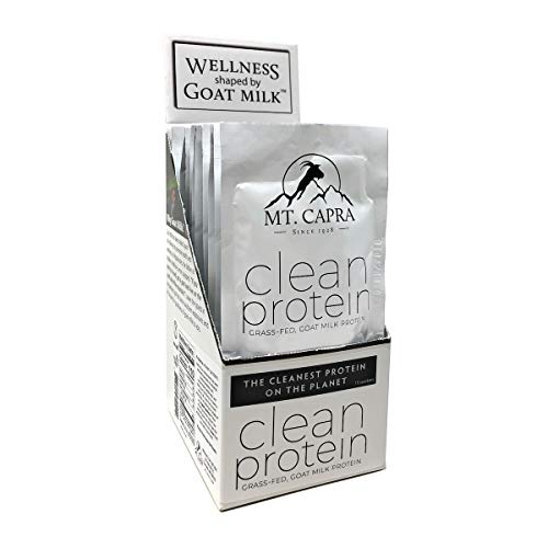 MT. CAPRA SINCE 1928 Clean Grassfed Goat Milk Protein with Whey and Casein Protein - 10 - Capra Mineral Mt Whey Powder