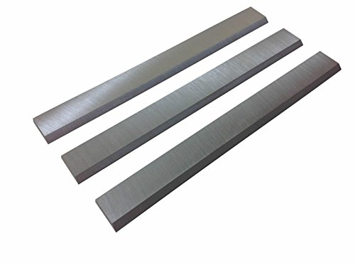 6-1/8-Inch Jointer Knives Blades for Ridgid JP0610,Delta 37-190 37-195, JET, Powermatic, Craftsman, Rockwel, Ridgid jointers - Set of 3