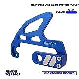 JFG RACING CNC Rear Disc Brake Guard For KTM Freeride 250 R 2015-2017 US, 85 SXS 17/14 2015 US, Freeride 350 2012-2017 EU, Freeride 250 R 2014-2017 EU, 85 SX 17/14 2015-2017 EU, 85 SX 19/16 - Blue