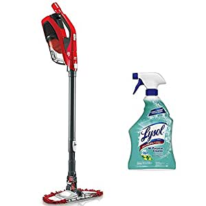 Dirt Devil 360-Degree Reach Cyclonic Bagless Corded Upright Stick Vacuum with Lysol All Purpose Cleaner, 32 Ounce