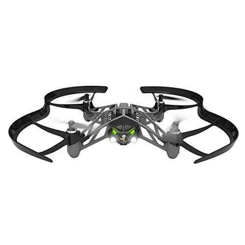 Parrot Airborne Night MiniDrone - SWAT Black (Renewed) (Parrot Airborne Quadcopter Mini Drones Cargo & Night)