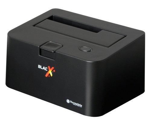 "Thermaltake BlacX 2.5""/3.5"" Sata I/II/III USB 2.0 External Hard Drive Enclosure Docking Station N0028USU"