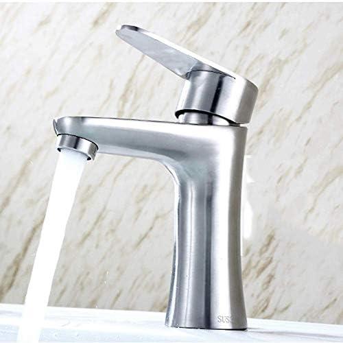 BXU-BG 蛇口ステンレス鋼ホットとコールド蛇口バスルームのトイレの蛇口ステンレス鋼流域の蛇口の楽しさ