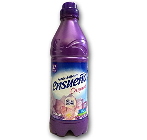 Ensueno Fabric Softener, Violet Bouquet, 28.7 Oz, 17 Loads