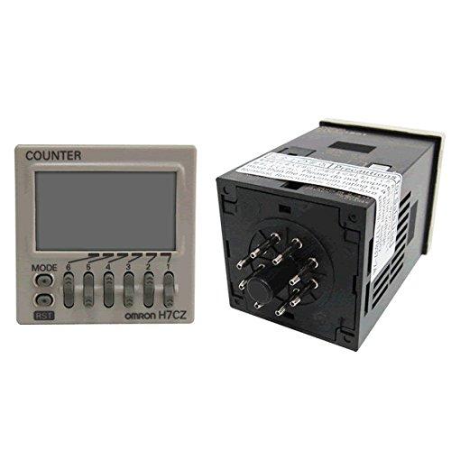 OMRON H7CZ-L8D1 Digital Counter (24VAC)(1-stage preset counter)(6 digits)(SPDT) NN