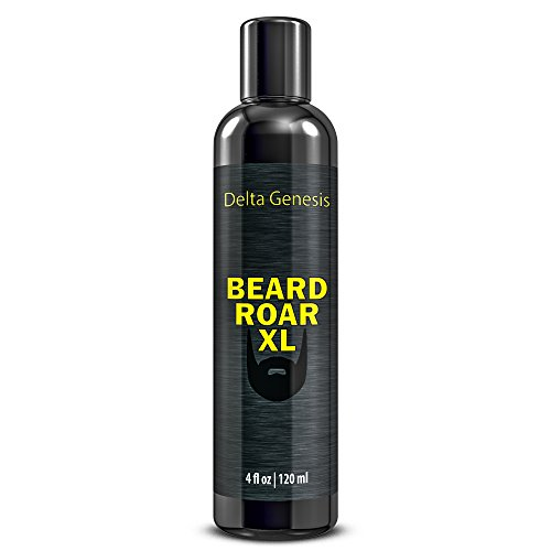 Beard Roar XL | Caffeine Shampoo for Stimulating Facial Hair Growth | Premium Beard Shampoo Soap Wash by Delta Genesis