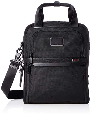 (   TUMI - Alpha 3 Medium Travel Tote - Satchel Crossbody Bag for Men and Women - Black )