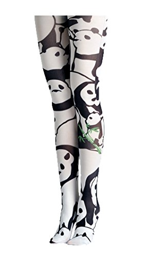 VIKEN PLAN Size(S/M Only) Women's Printed Opaque High Waist Pantyhose (Pantyhose Printed)