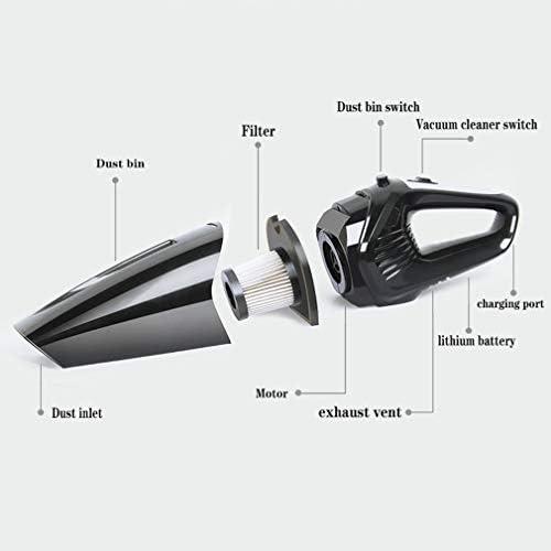 SACYSAC 5000PA Handheld Aspirateur, Aspiration Forte Puissance, Utilisation Durable Pendant 25 Minutes, adapté pour la Maison et Nettoyage de Voitures
