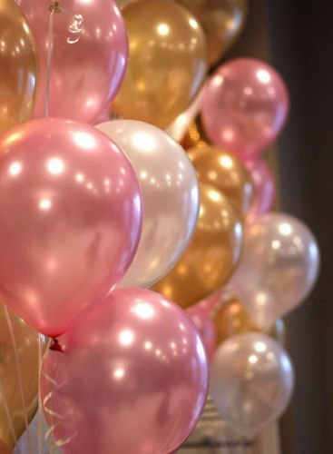 pink and white streamers - 6