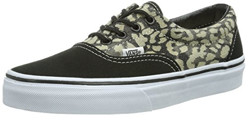 U Black Leopard mixte Baskets Noir adulte Vans mode Era P8dqd