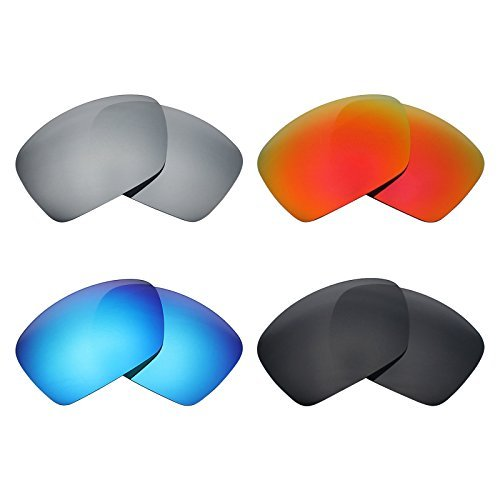 Mryok 4 Pair Polarized Replacement Lenses for Oakley for sale  Delivered anywhere in Canada