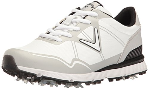 Callaway Women's Halo Golf Shoe, White, 11 B US