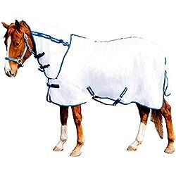 TuffRider Sport Mesh Combo Neck Fly Sheet 69 White