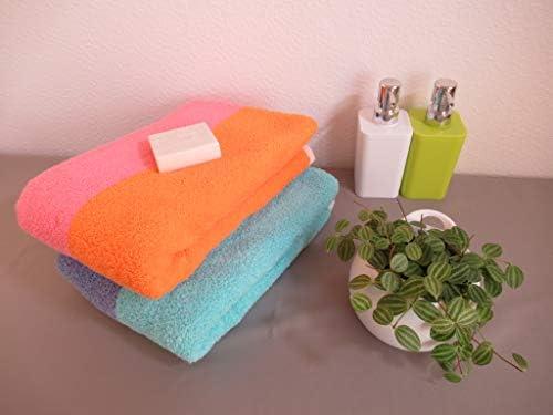 おぼろタオル バスタオル ピンク×オレンジ 60×120cm 「おぼろ百年の極」想像を超える極上の肌触り/日本製