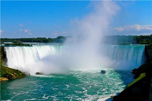 NIAGRA FALLS GLOSSY POSTER PICTURE PHOTO waterfall ontario c