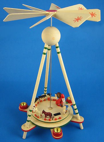Dregano Santa Toys Christmas Pyramid Made in Germany