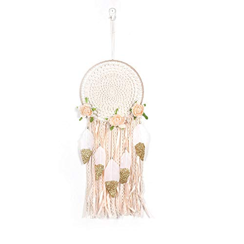 Newkelly Wedding Decoration Dream Catcher Net Hanging Home Car Decoration Decor Craft