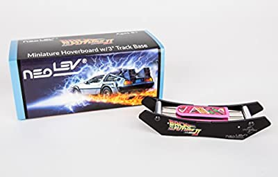 Back to the Future Miniature Levitating Hover Board with Base by Neolev