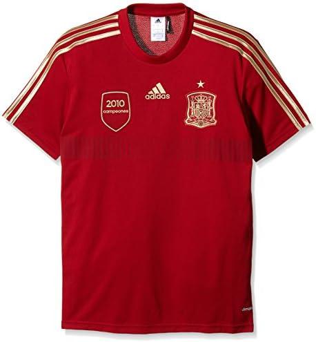 adidas Selección Española de Fútbol - Camiseta de fútbol de aficionado para hombre: Amazon.es: Ropa y accesorios