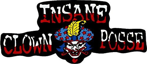 Insane Clown Posse - Logo with Clown Face - Large Jumbo Vinyl Sticker / Decal (ICP)