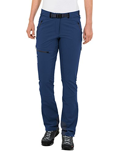 VAUDE Women's Bazile Pants, Sailor Blue, Size - Vaude Rock