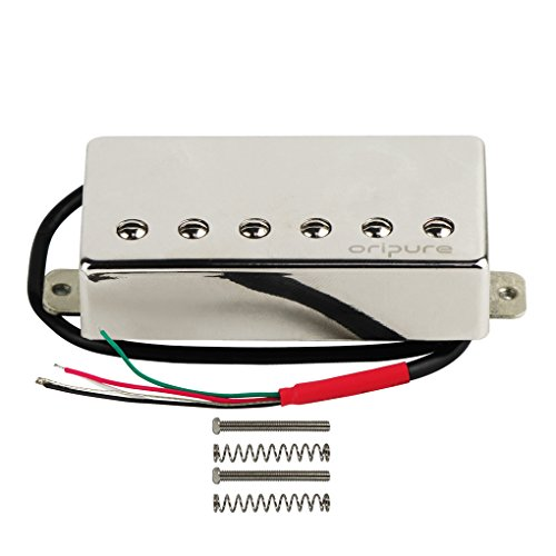 - OriPure Alnico 5 Guitar Humbucker Pickups Handmade Bridge Pickup Fit Les Paul Guitar Part - Solid Sound