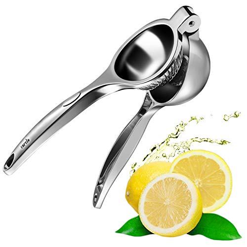CORELO Premium Zitronenpresse Zitruspresse für Limetten Zitronen Orangen (Zinklegierung)