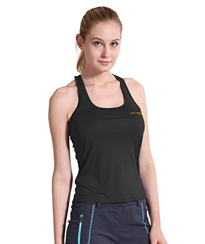Summit Glory Women's Workout Quick Dry Yoga Fitness Racerback Tank Top BlackXL For Sale