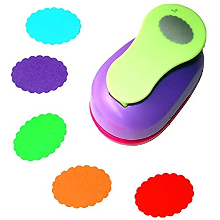 CADY Crafts Punch 2-Inch Paper Punches Craft Punches circle 5cm