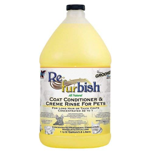 Groomers Edge Re-Fur-Bish Conditioner, 1 Gallon by Groomers Edge