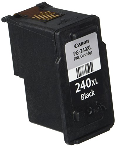 Canon PG-240XL Black Ink Cartridge, Compatible to MG3620, MG3520, MG4220,MG3220 and MG2220 by Canon