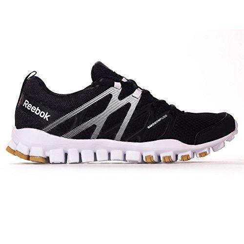 Reebok - Zapatillas de Lona para hombre negro negro