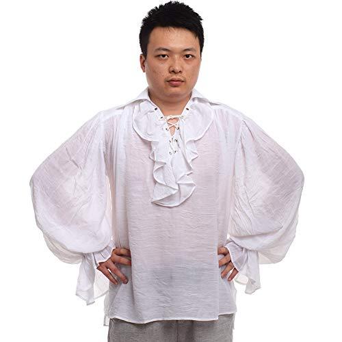 GRACEART Men's Pirate Shirt Costume