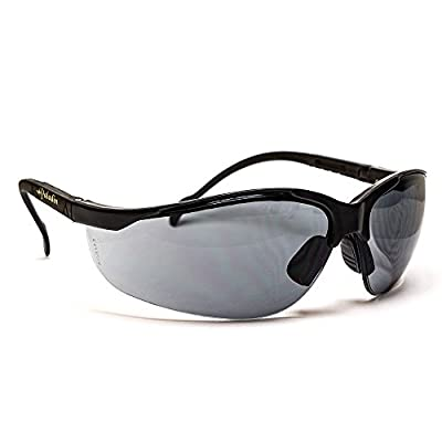 S.O. Tech PAL-BSG-GRY Paladin Ballistic Shooting Glasses, Grey Lens