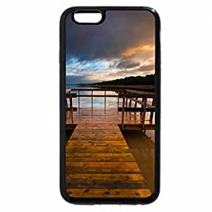 iPhone 6S / iPhone 6 Case (Black) Sunset Pier