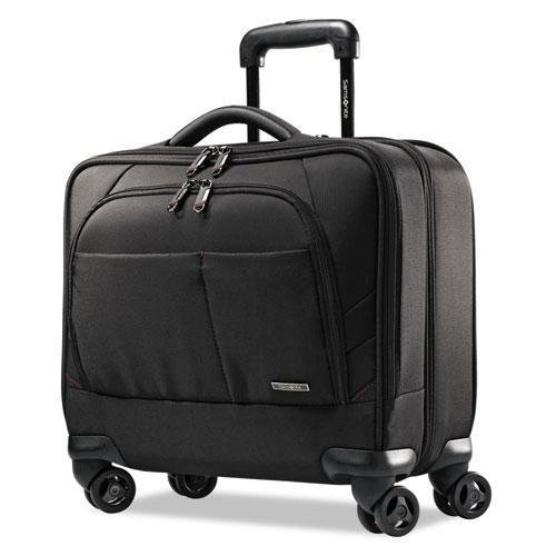 SAMSONITE CORP/LUGGAGE DIV Xenon 2 Spinner Mobile Office, 13.5 x 8 x 16.5, Nylon, Black (492131041) (Spinner Mobile Office Notebook Case)