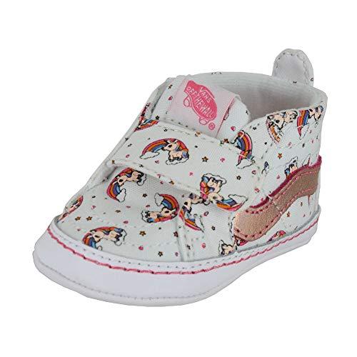 2f71987a3 Vans Toddler Slip ON V Crib Unicorn Rainbow Pink Lemonade Size 2