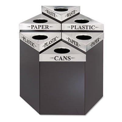Lid Waste Trifecta Receptacle - SAF9560CZ - Trifecta Waste Receptacle Lid
