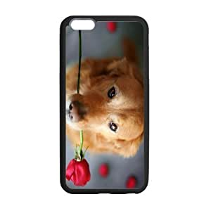 Case For Iphone 4/4S Cover Case, Dog Rose To You PC Frame PC Hard Back Protective Cover Bumper Case For Iphone 4/4S Cover On 2014