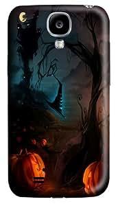 Happy Halloween 4 Custom Samsung Galaxy I9500/Samsung Galaxy S4 Case Cover Polycarbonate 3D