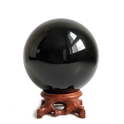 Mina Heal Obsidian Crystal Ball 90mm / 3.5