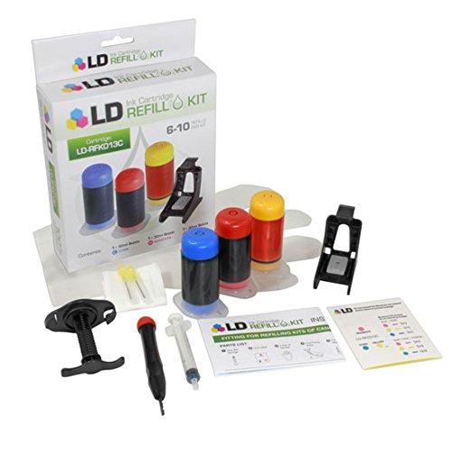 LD LD Color Ink Refill Kit For Canon CLI-241 / CLI-241XL (Refill Canon Pixma)
