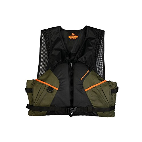 Stearns 2000013804 PFD 2220 Cmft Fishing Lrg Grn