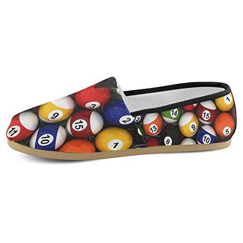 Mocassini Da Donna Di Interestprint Classico Su Tela Casual Slip On Fashion Shoes Sneakers Flat Multi 29